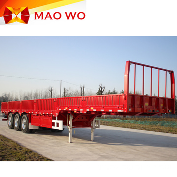 Cheap 3 Axle 60T Utility Trailer Side Walls