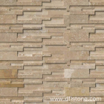 3D Honed Travertine Natural Stone Cladding