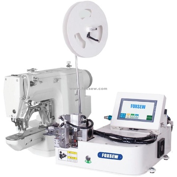 Automatic Cutting and Feeding Velcro Tape Attaching Machine