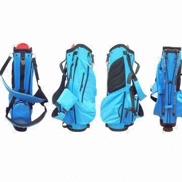 Eye-Catching Waterproof Nylon Golf Stand Bag