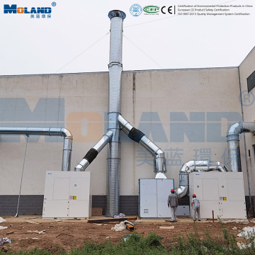 Big Flow Industrial Dust Collecto for Air Ventilation