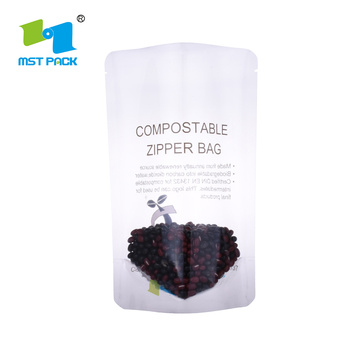 Food Packaging Bag Biodegradable Stand Up Pouch