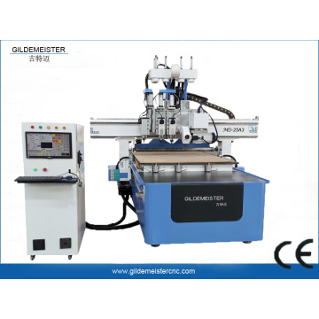 4 Heads ATC CNC Engraving Machine