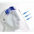 Disposable Plastic Pet Anti Fog Droplet Face Shield