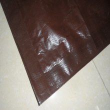 Light Brown PE Tarpaulin Sheet