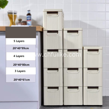 Large Kids Storage Cabinet Plastic Wardrobe