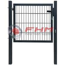 Welded Wire Mesh Round Tube Frame With Lock