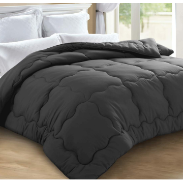 King Size White Down Alternative Quilted Comforter