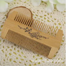 bamboo hairbrush massager lice comb