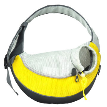 Yellow XLarge PVC and Mesh Pet Sling