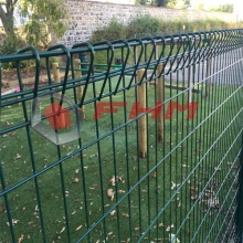 Roll Top Fence Decorative BRC Fence for Welded Wire