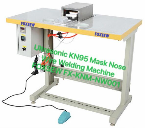 Ultrasonic KN95 Mask Nose Wire Welding Machine FOXSEW FX-KNM-NW001
