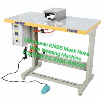 Ultrasonic N95 Mask Nose Bridge Fixing Machine