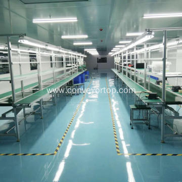 Electronic Mobile Phone Belt Conveyor Systems Assembly Line