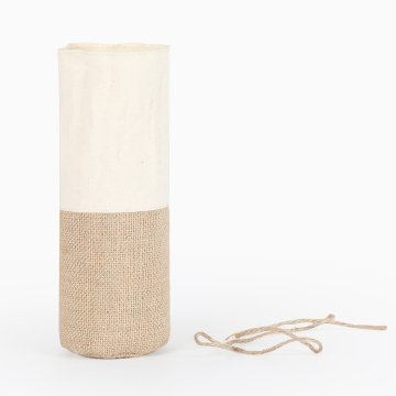 Natural Burlap Gift Shopping Jute Bag