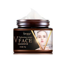 Hot Face Lifting Cream Burning Fat Shaping V Face Firming Skin Facial Tightening Slimming Cream 50g