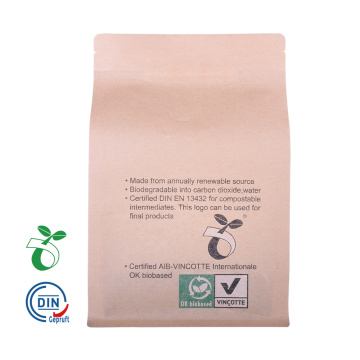 china factory wholesale Compostable/Biodegradable Food Packaging Bag with Window