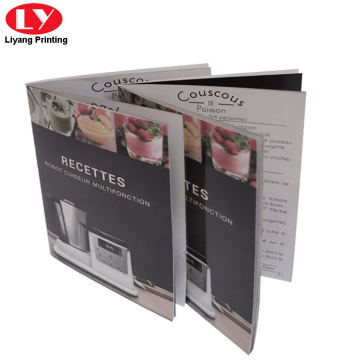 Custom Saddle Stitching colorful A5 Brochure Printing