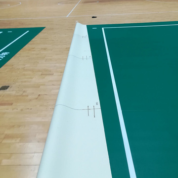 anti-slip waterproof indoor volleyball sports flooring
