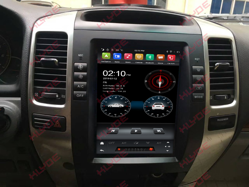 car navigation for Toyota Prado 2008