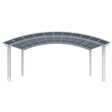 Used Car Carport With Arched Roof Solid Polycarbonate
