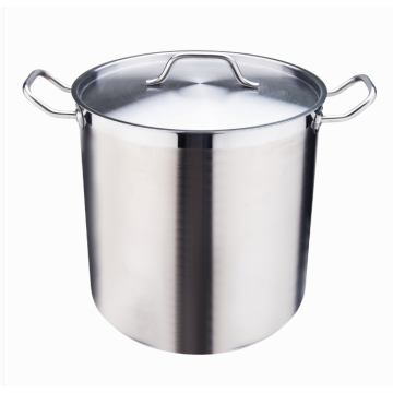 Professional 18-8 stockpot with cover stainless steel
