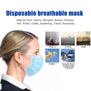 Surgical Face Mask 3 ply Disposable Face Mask