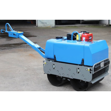 mini hydraulic double drum vibratory road roller