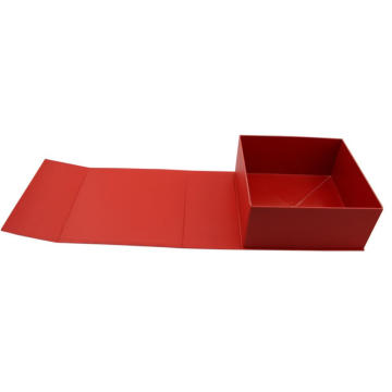 Red Side Folding Style Cardboard Box