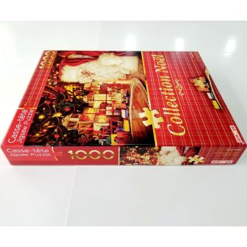 Custom 1500pcs paper children's educational puzzle toy