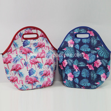 Factory full color printing neoprene lunch coolers