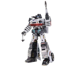 Art Model MU 3D Metal Puzzle G1 Jazz robot Model kits DIY 3D Laser Cut Assemble Jigsaw Toys GIFT For Children