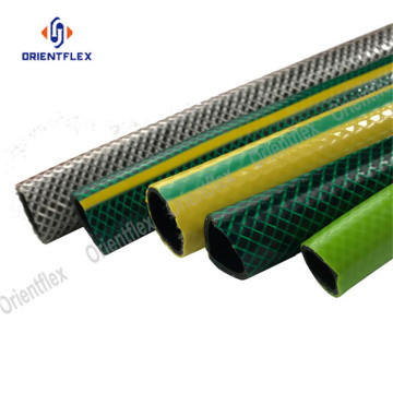 Colors Braided/Fiber Reinforced PVC Water/Garden Hose