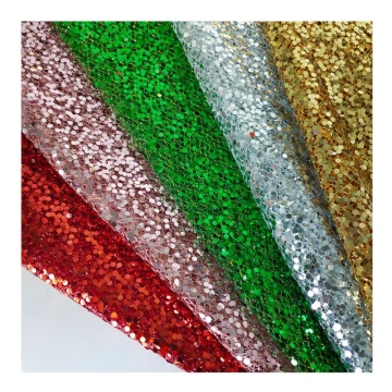 Sequin Glitter Embroidery net 100% Polyester Tulle Mesh