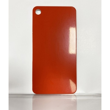 Feve Gloss Warm Red Aluminium Sheet