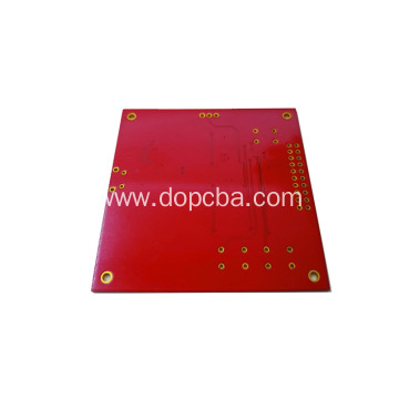 Red Solder Mask 1oz 4layers customised pcb board