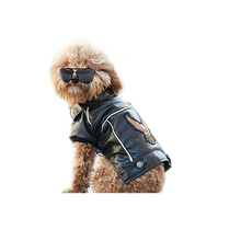 Dog Winter Coat Pu Leather