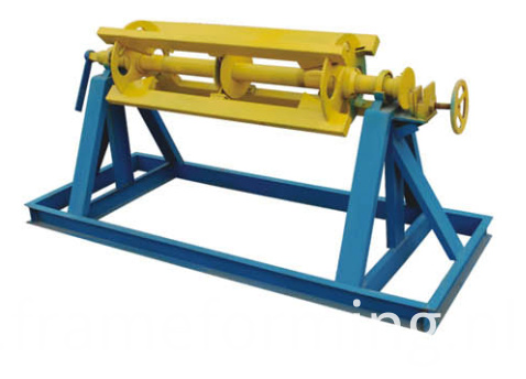 manual decoiler of double layer roofing machine