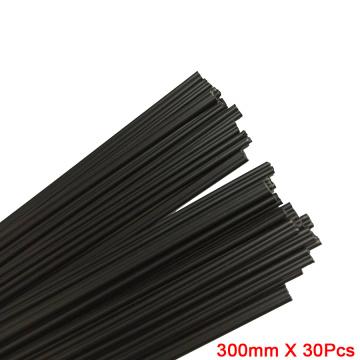 PP Plastic Welding Rods (2.5mm) Black, Pack Of 300mm* 30 Pcs /Triangular Shape Supplies