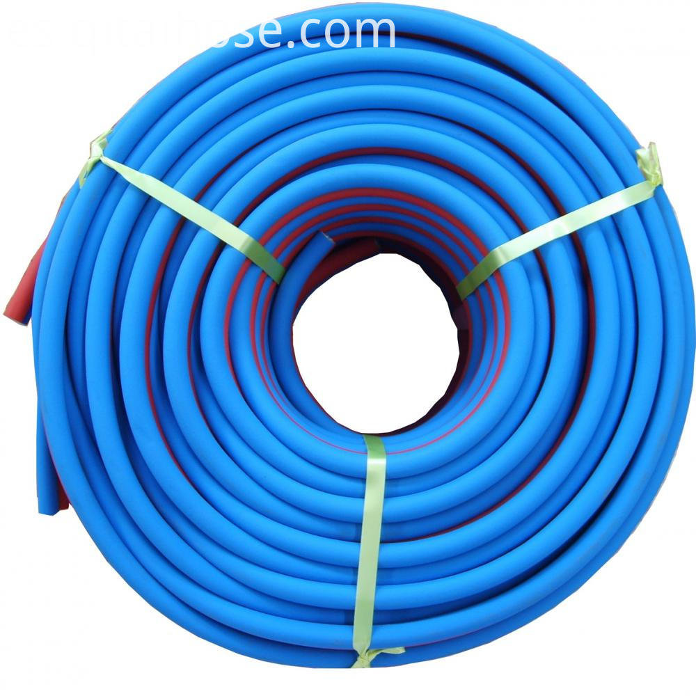 Red Blue Twin Welding Hose 1