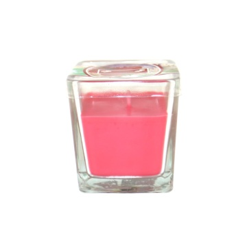 Luxury glass new year gift scented candle