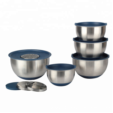Premium Food Grade Deep Mixing Bowl With Graters