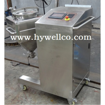 Lab Powder Interchangeable Hopper Bin Mixer
