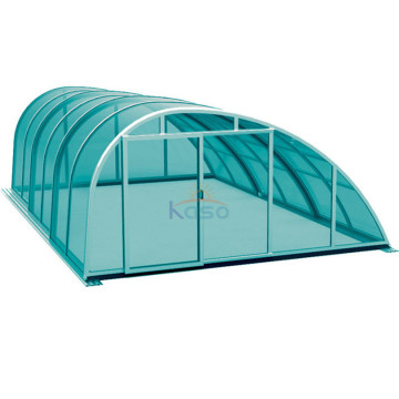 Filter Enclosure Material Pool Roof Polycarbonate