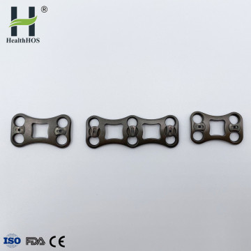 Anterior cervical titanium Implant Fixators
