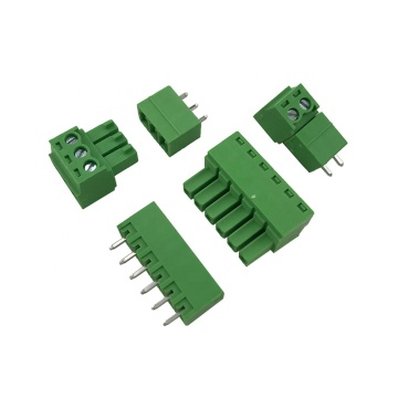 3.81mm pitch PCB mount plug-in terminal block