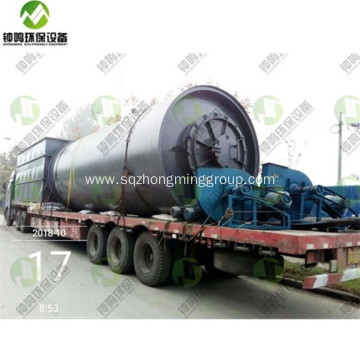 Plastic Pyrolysis Oil Machine for Sale