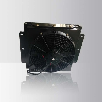 hydraulic oil air cooler with fan