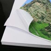 Waterproof Adhesive Matte Photo Paper A4 color printing paper