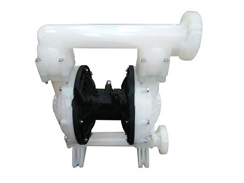 QBY engineering plastic pneumatic diaphragm pump reinforced polypropylene diaphragm pump 3